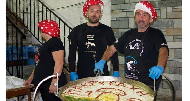 Γιορτή μανιταριών και βοτάνων στη Μακρυράχη