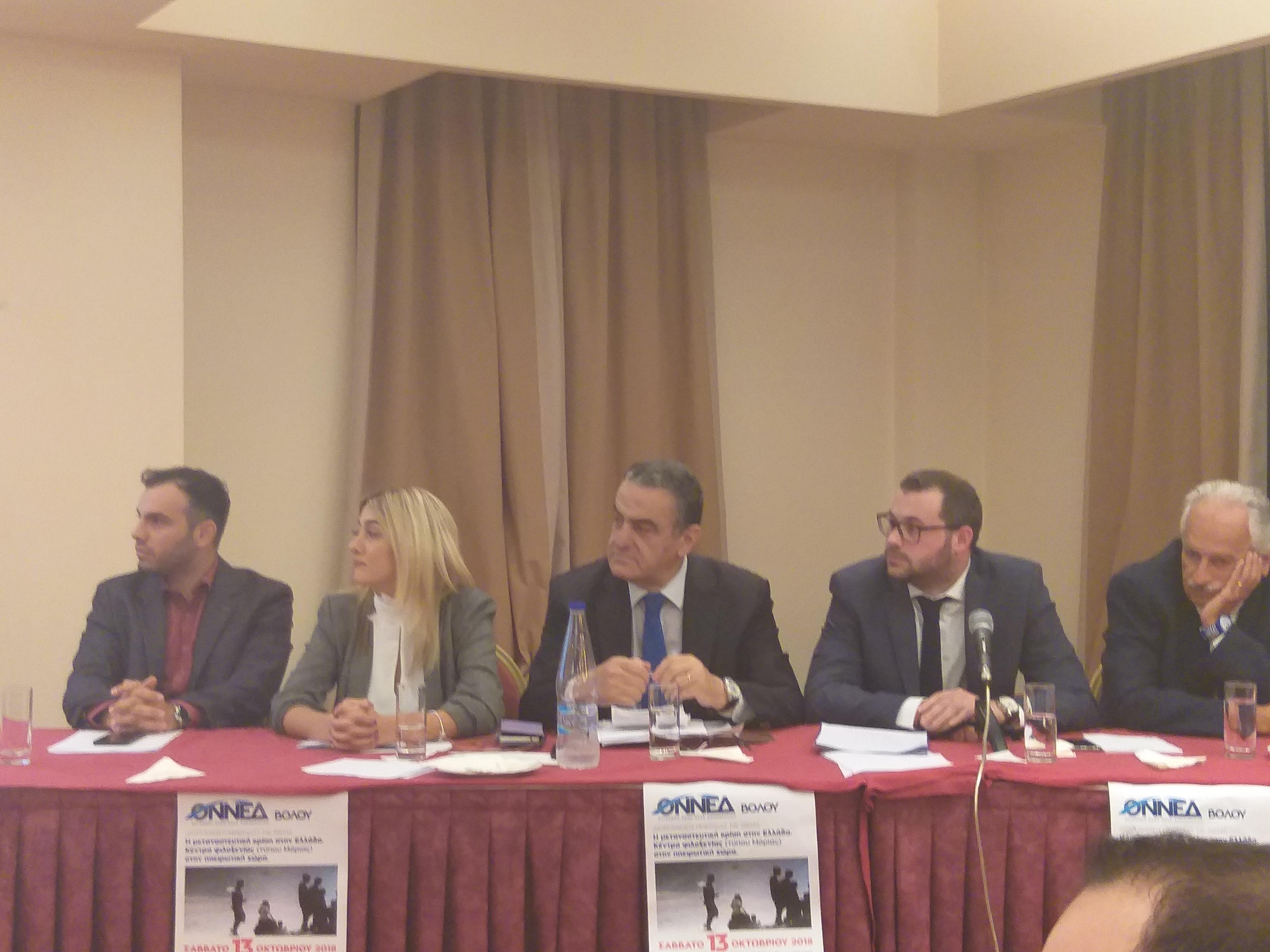 Χαρ. Αθανασίου: Παταγώδη η αποτυχία της κυβέρνησης στο μεταναστευτικό