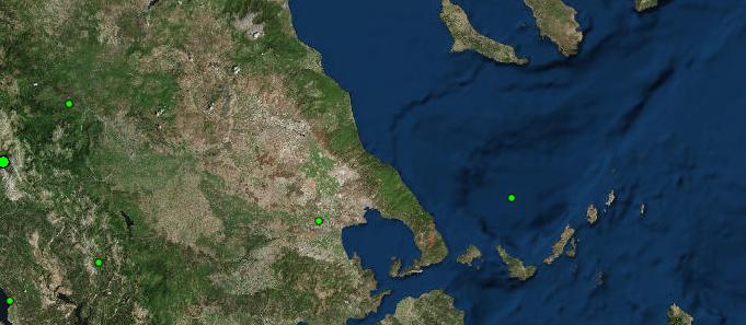 Ασθενείς σεισμικές δονήσεις σε Βόλο & Σκιάθο