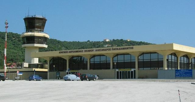 Εργασίες εξωραϊσμού στο αεροδρόμιο Σκιάθου