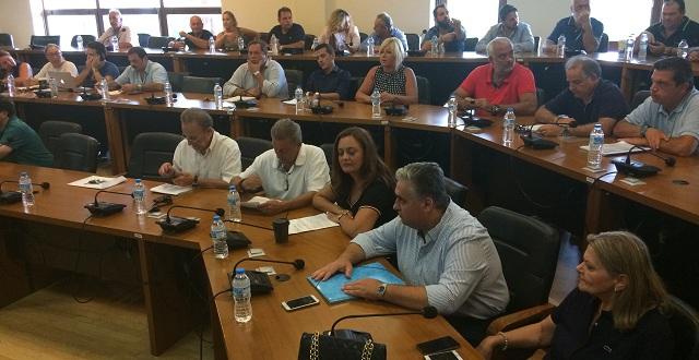 Συγκέντρωση διαμαρτυρίας στο δημοτικό συμβούλιο κατά της κατασκευής μονάδας παραγωγής SRF