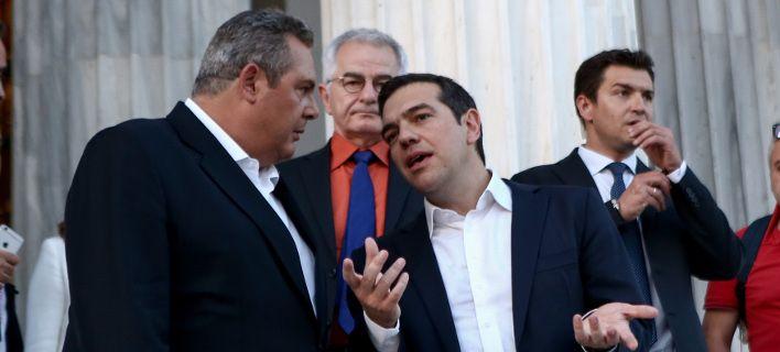 Αντιπολίτευση: Όμηρος του Καμμένου ο Τσίπρας -Εκβιάζεται ο πρωθυπουργός