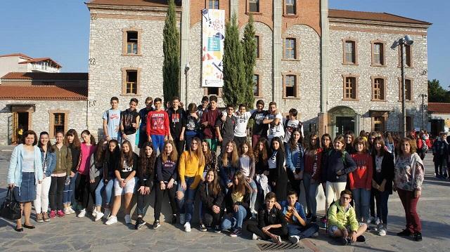 Στο φεστιβάλ επιστήμης το 1ο Γυμνάσιο Βόλου