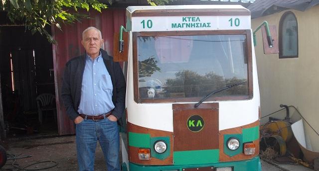Κατασκεύασε το δικό του λεωφορείο