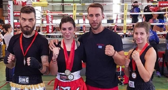 Σε τουρνουά Kick Boxing αθλητές του Νικόμαχου
