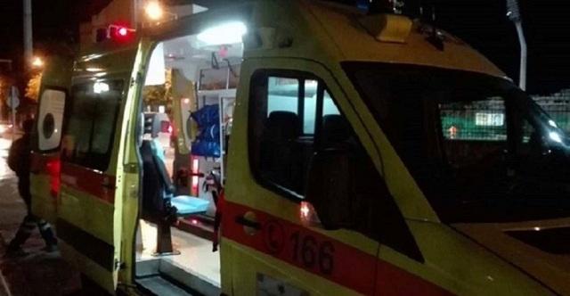 Τροχαίο με τραυματισμούς 4 νεαρών έξω από τον Τύρναβο