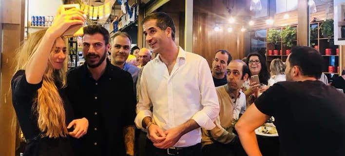 Ο Κώστας Μπακογιάννης και ο Ακης Πετρετζίκης μαζί στο Τελ Αβίβ [εικόνες]