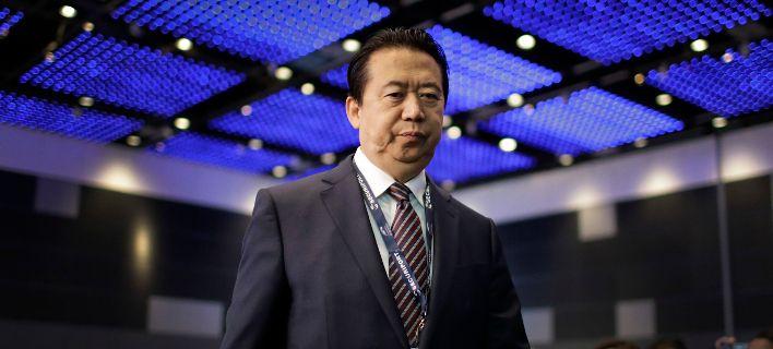 Φόβους για τη ζωή του εκφράζει η σύζυγος του Κινέζου πρώην αρχηγού της Ιντερπόλ