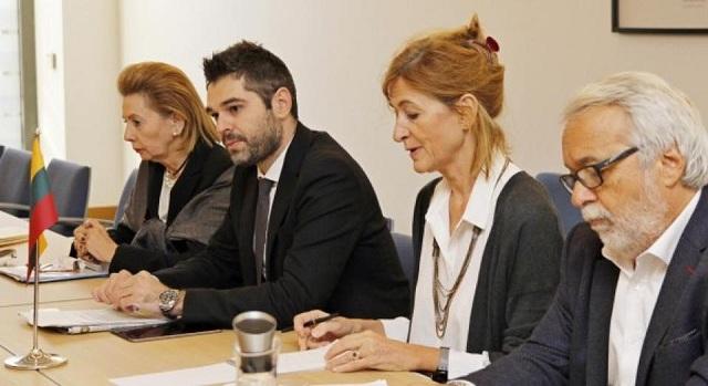 Ο Μάκης Μπαλλής στην ελληνική κοινοβουλευτική αποστολή για επαφές στην Λιθουανία