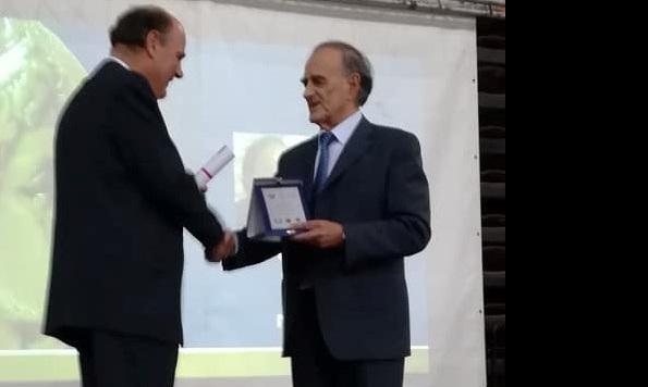 Βραβεύτηκε για την προσφορά του στην κοινωνία ο Γ. Σούρλας