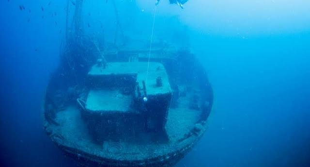 Επισκέψιμο πλέον το ναυάγιο «Χριστόφορος» στη Σκόπελο