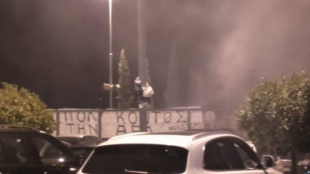 Νέα πορεία οπαδών της ΑΕΛ κατά Κούγια [εικόνες]