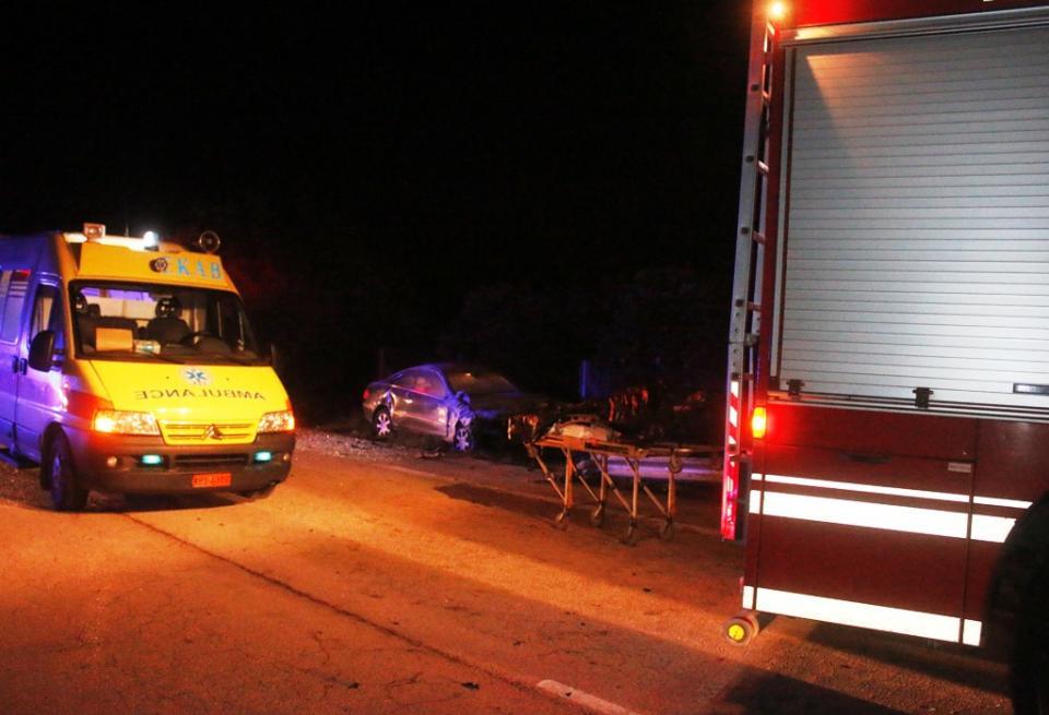 Βουτιά θανάτου ΙΧ σε χαράδρα στο δρόμο Ζαγοράς -Χορευτού