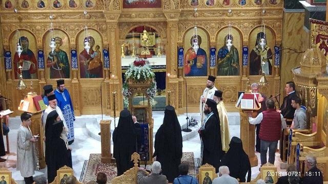 Υποδοχή της Παναγίας Καναλιώτισσας στον Αγιο Δημήτριο Βόλου