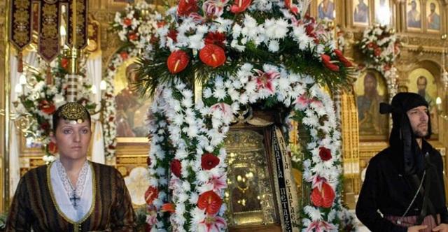 Η Εικόνα της Παναγίας Σουμελά στον Βόλο