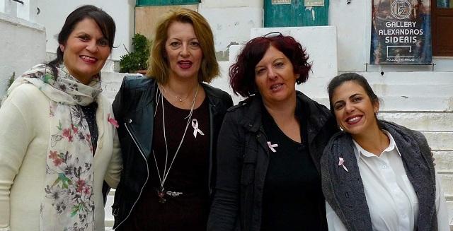 Δράση για την πρόληψη του καρκίνου του μαστού στην Σκόπελο