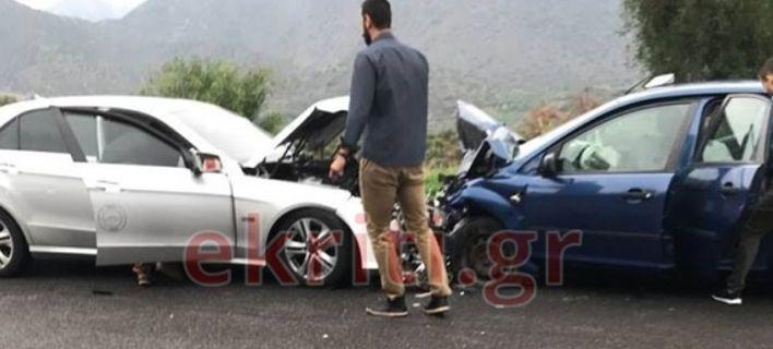 Σοβαρό τροχαίο στην Κρήτη με 5 τραυματίες -Ανάμεσά τους ένα παιδί [εικόνες]