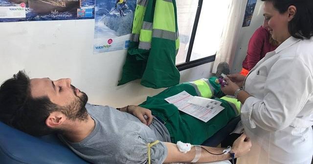 Με μεγάλη συμμετοχή η εθελοντική αιμοδοσία στην ΑΓΕΤ