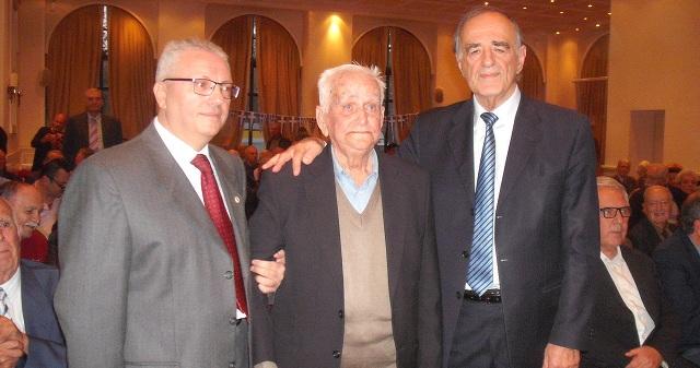 Επετειακή εκδήλωση τιμής στον Γ. Σούρλα και στον 102χρονο Δ. Κάλμπαρη