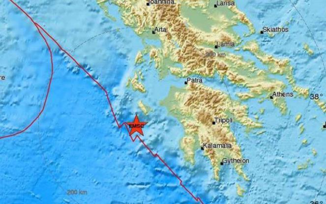 Ισχυρός μετασεισμός 5.7 Ρίχτερ - «Τρέμει» η Δυτική Ελλάδα