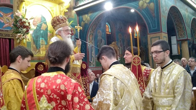 Με λαμπρότητα ο εορτασμός του Πολιούχου του Αλμυρού Αγίου Δημητρίου