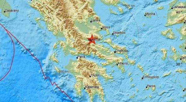 Σεισμός στη Λαμία ταρακούνησε και τη Μαγνησία
