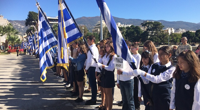 Μηνύματα ενότητας και αλληλεγγύης από τους μαθητές του Βόλου