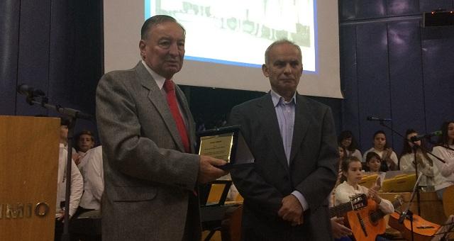 Βραβεύτηκε ο πρόεδρος του Ερυθρού Σταυρού