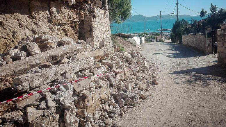 Ο σεισμός μετακίνησε τη Ζάκυνθο τρία εκατοστά νοτιοδυτικά