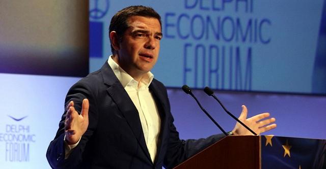 Tσίπρας: Η Ελλάδα αφήνει πίσω της τα υφεσιακά προγράμματα. Καθιερώνεται ως μια δυναμική οικιονομία