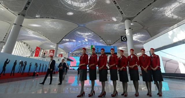 Ο Ερντογάν εγκαινίασε το νέο αεροδρόμιο της Κωνσταντινούπολης [εικόνες]