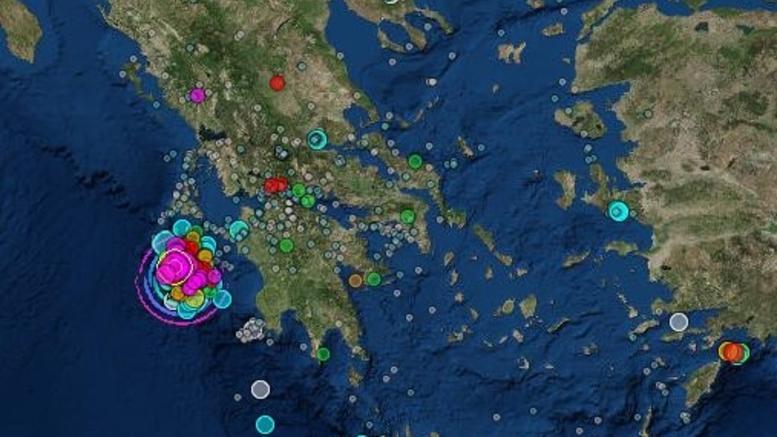 Νέα σεισμική δόνηση στη Ζάκυνθο 5,4 Ρίχτερ. Κλειστά αύριο τα σχολεία
