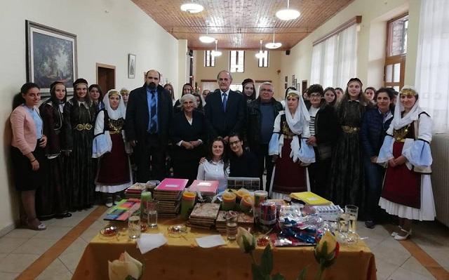 Επίσκεψη του Γ. Σούρλα στην Β. Ηπειρο για την επέτειο της 28ης Οκτωβρίου