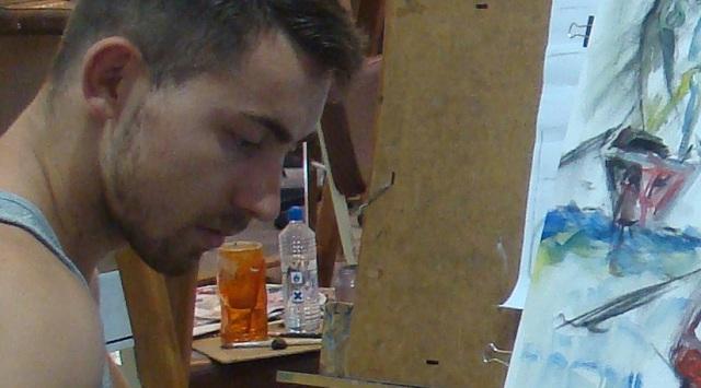 Τμήμα Ζωγραφικής στο Πολιτιστικό Κέντρο Ν. Ιωνίας