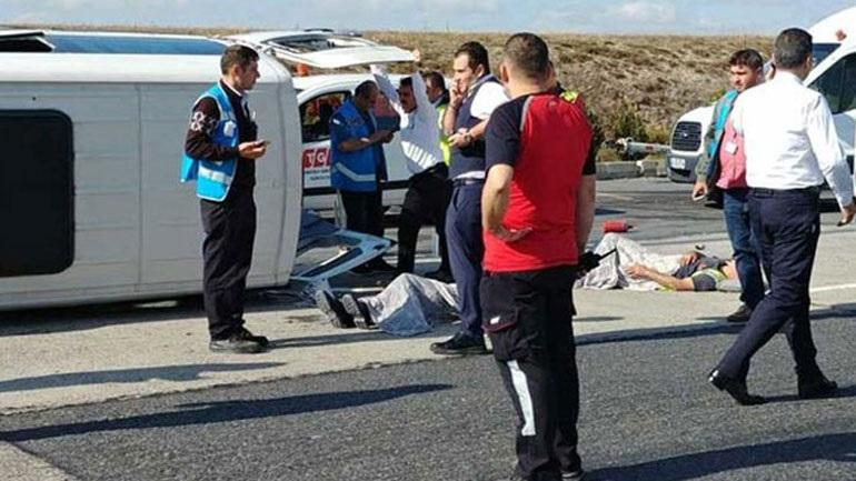 Σύγκρουση οχημάτων στο αεροδρόμιο Κωνσταντινούπολης - Εννέα τραυματίες