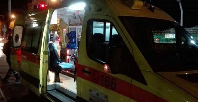 Σοβαρά τραυματισμένη 21χρονη που έπεσε στο κενό από ύψος 4 μέτρων στη Λάρισα