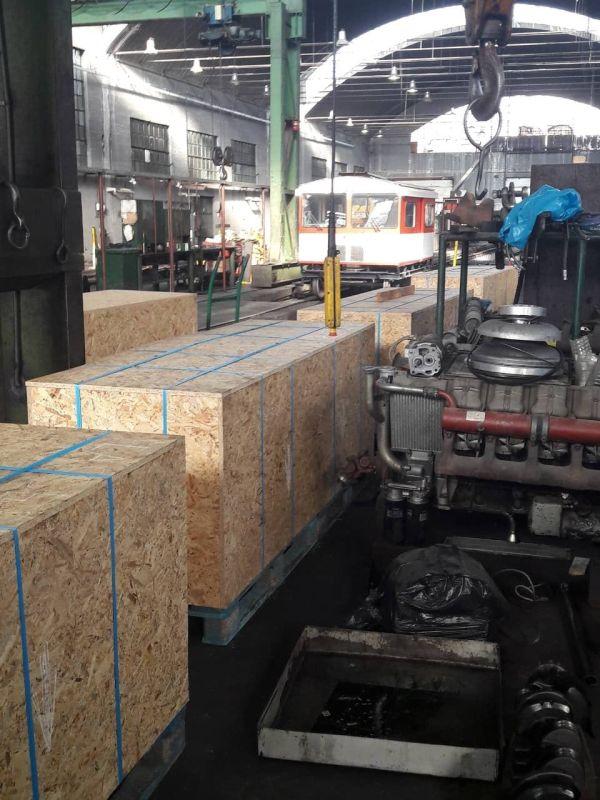 «Εκτροχιάζεται» το εργοστάσιο του ΟΣΕ ~ Στέλνουν στην Αυστρία... για επισκευή μηχάνημα γραμμής