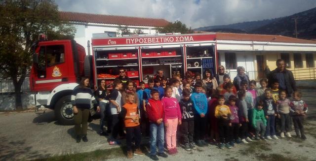 Μαθητές ενημερώθηκαν για την πρόληψη των φυσικών καταστροφών