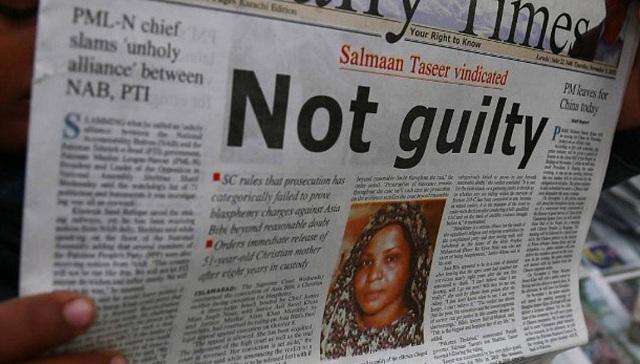 Στο Πακιστάν παραμένει η χριστιανή Άσια Μπίμπι μετά την απελευθέρωσή της