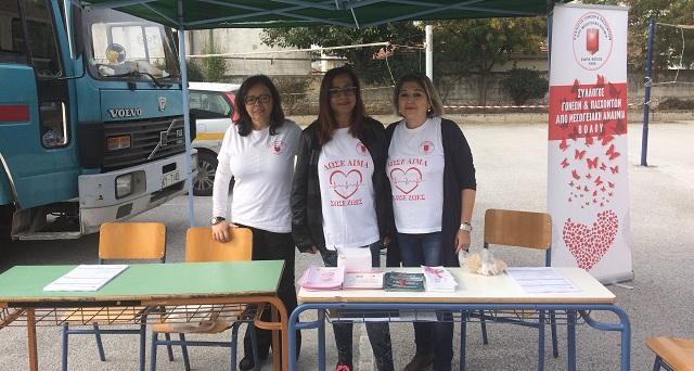 300 φιάλες αίματος κάθε μήνα για τους πάσχοντες από μεσογειακή αναιμία
