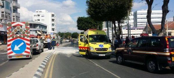 Λεμεσός: Εκρηξη σε όχημα δημοσίων έργων - Δύο τραυματίες
