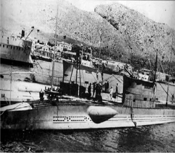 Γρηγόρης Καρταπάνης: Η βύθιση του Υ/Β Τρίτων (16 -11- 1942)