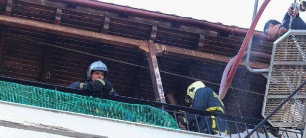 Πυρκαγιά σε σπίτι στη Λάρισα - Απεγκλωβίστηκε ηλικιωμένη