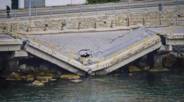 Καβάλα: Στο «μικροσκόπιο« η κατάρρευση της γέφυρας. Εν αναμονή του πορίσματος των μηχανικών