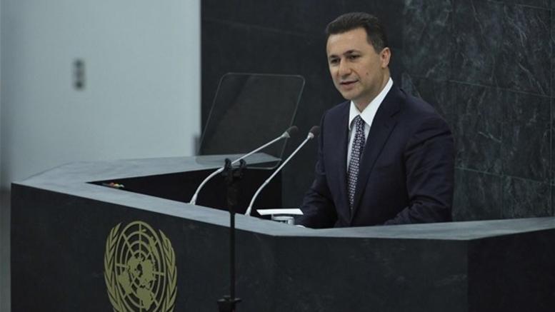 ΠΓΔΜ: Ενταλμα σύλληψης εις βάρος του Νίκολα Γκρούεφσκι