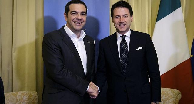 Διμερής συνάντηση Τσίπρα –Κόντε: Τι συζήτησαν στο Παλέρμο