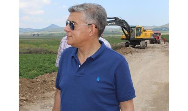 Χρηματοδότηση για έργα αγροτικής οδοποιίας στο Δήμο Βόλου
