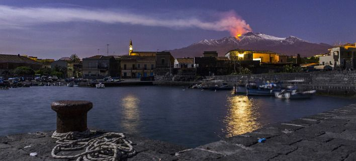 Ηφαίστειο Αίτνα: Σε λειτουργία η προειδοποίηση. Θα ενημερώσει μία ώρα πριν την έκρηξη