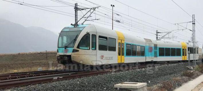 Ανοιχτή και πάλι η σιδηροδρομική γραμμή Λιανοκλάδι-Παλαιοφάρσαλος