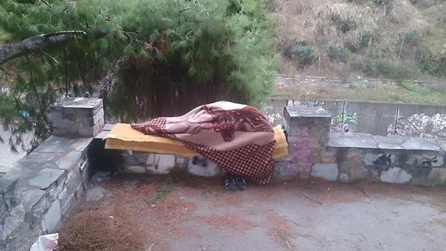«Αγκαλιά» ο Βόλος για άστεγο